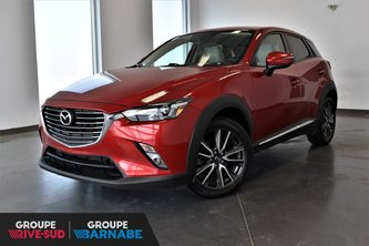 2016 Mazda CX-3 GT AWD CUIR TOIT OUVRANT BLUETOOTH LECTEUR CD