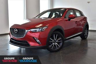 Mazda CX-3 ***GT AWD CUIR TOIT OUVRANT SIÈGE CHAUFFANT *** 2018