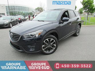 Mazda CX-5 *GT AWD TOIT OUVRANT GPS CUIR CAMERA DE RECUL * 2016