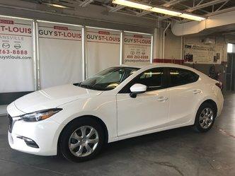 2018  Mazda3 GX AUTOMATIQUE A/C CAMERA DE RECUL