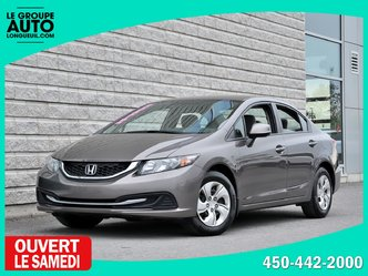 Honda Civic Sdn *LX*AUTOM*A/C*BLUETOOTH*46989KM*WOW* 2013