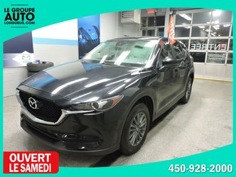 Mazda CX-5 GS AWD GROUPE CONFORT  CUIR/SUEDE MAG TOIT ET PLUS 2018