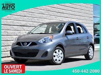 Nissan Micra *SV*AUTOM*A/C*GRISE*46659KM* 2016