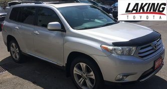 2012 Toyota Highlander LEATHER PACK AWD V6 3rd ROW