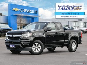 2016 Chevrolet Colorado WT 2WD Extended Cab 2WD WT