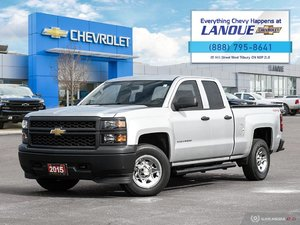2015 Chevrolet Silverado WT 4WD Double C Base