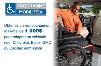 Programme Mobilité pour personnes handicapées