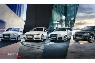 Profitez des offres Audi Certifié Plus cet été.