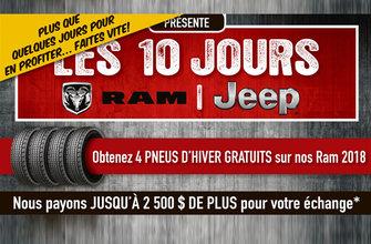 Les 10 jours Jeep RAM
