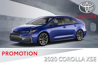 2020 / 2019 Corolla XSE CVT