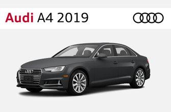 Audi A4 et S4 Berline 2019