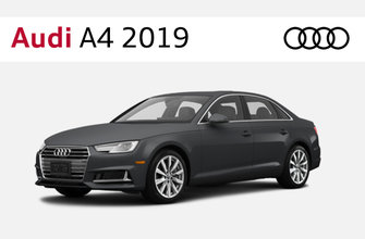 Audi A4 berline 2019