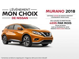 Le nouveau Nissan Murano 2018