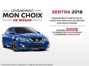 Le nouvelle Nissan Sentra 2018
