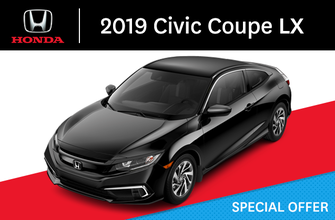 2019 Honda Civic Coupe LX manual