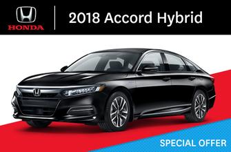 2018 Honda Accord Hybrid E-CVT