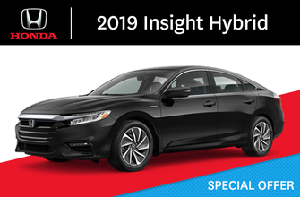 2019 Honda Insight Hybrid E-CVT