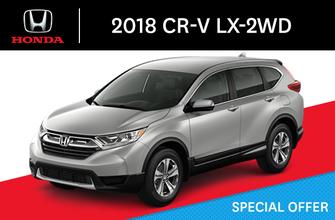 2018 Honda CR-V LX-2WD C-CVT