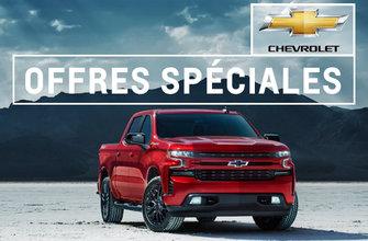 Promotions Chevrolet VUS et Camion