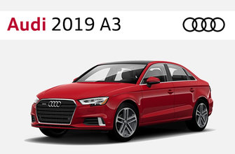 Audi 2019 A3 sedan