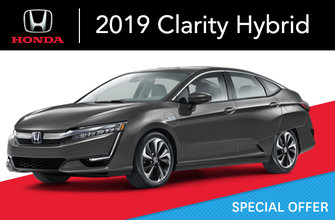2019 Clarity hybride rechargeable