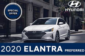 2020 Elantra Preferred auto