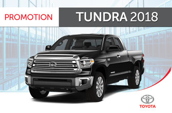 Tundra 4X4 Crewmax<br>2018 avec Groupe TRD Sport