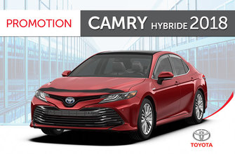 Toyota Camry<br>hybride XLE 2018