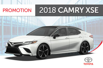 Toyota 2018 Camry<br>XSE V6 Standard Package