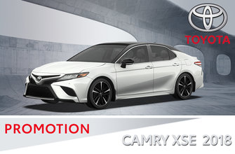 Toyota Camry XSE V6 2018 Groupe standard