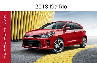2018 Rio 5-door LX MT