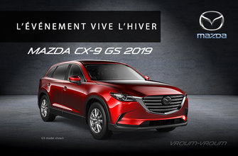 Mazda CX-9 GS 2019 - 7 passagers