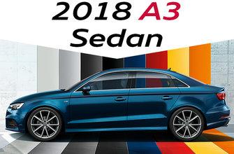 2018 A3 Sedan