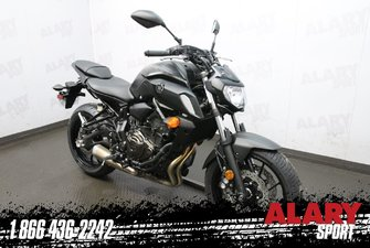 Yamaha MT-07 noir  2019