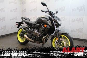 Yamaha MT-07 2018 gris  2018