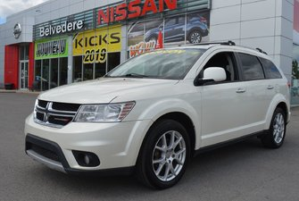 Dodge Journey R/T AWD VOLANT BANC CHAUFFANT BLUETOOTH NAVIGATION 2014
