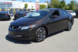 Honda Civic Sedan EX AUTOMATIQUE JANTES EN ALLIAGE TOIT OUVRANT 2014