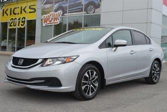 Honda Civic Sedan EX AUTOMATIQUE TOIT OUVRANT BLUETOOTH 2015