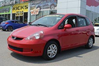 2007 Honda Fit DX  DE BASE AUTOMATIQUE VITRES ÉLECTRIQUES