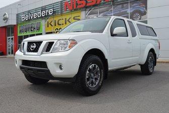 Nissan Frontier PRO-4X KING CAB NAVIGATION BANCS CHAUFFANTS 2016