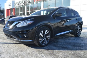 Nissan Murano PLATINUM AWD CUIR TOIT MAGS NAVIGATION 2018