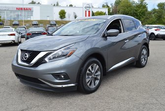 2018 Nissan Murano SL AWD CUIR AUTOMATIQUE NAVIGATION TOIT OUVRANT