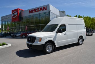 2017 Nissan NV 2500 S V6 HIGH ROOF A/C GR ELECTRIQUE CRUISE