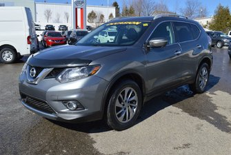 Nissan Rogue SL AWD CUIR GPS TOIT OUVRANT CAMÉRA DE RECUL 2015