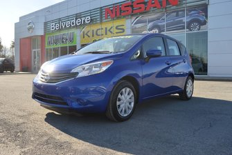 Nissan Versa Note SV  CRUISE-CONTROL CAMERA DE RECUL BLUETOOTH 2015