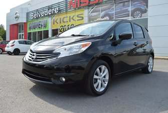 2015 Nissan Versa Note SL AUTOMATIQUE MAGS GPS CAMERA  DE RECUL BLUETOOTH