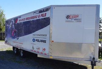 2014 Alcom LLC POLARIS TRAILERS V NOSE, Pour 4 motoneiges