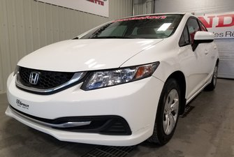 2014 Honda Civic Sedan LX bas kilo bluetooth transmission automatique A/C