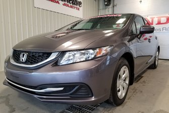 Honda Civic Sedan LX bluetooth automatique 2014