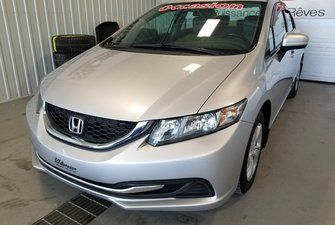 2014 Honda Civic Sedan LX bluetooth A/C automatique